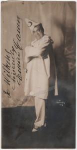Enrico Caruso as Canio in Pagliacci - Photo by Mishkin