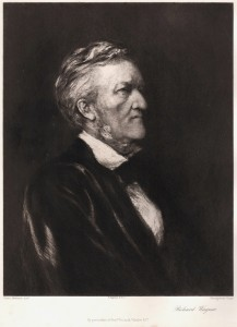 Richard Wagner Photo Engraving - Early 1900s