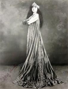 Rosa Ponselle - Signed Poster as Elvira in Ernani