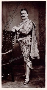 Enrico Caruso - Signed Photo in Rigoletto, circa 1903