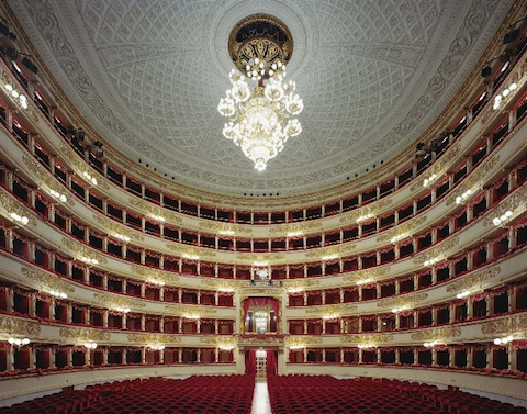TEATRO ALLA SCALA - MILAN - Opened in 1778, one of the leading opera and ballet theaters in the entire world