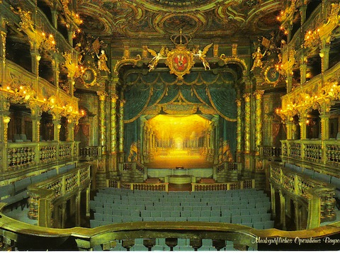 MARGRAVIAL OPERA HOUSE - BAYREUTH, GERMANY - Built between 1744 and 1748, it has been inscribed in the UNESCO World Heritage List
