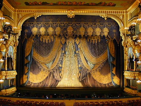 MARIINSKY THEATER - Opened in 1860, was formerly known as the Kirov Theater (plus several other names)