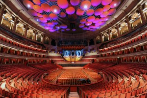 Royal Albert Hall, London - Home of most concerts for the PROMS