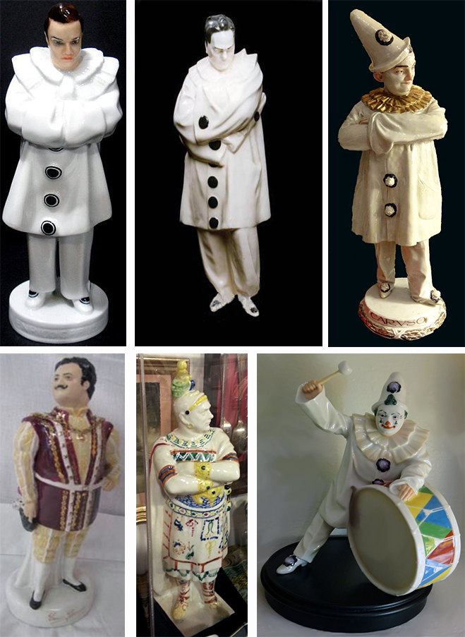 Caruso Porcelain Figurines