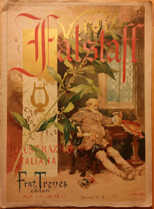 Falstaff World Premiere Booklet 1893