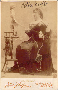 Nellie Melba as Marguerite in Faust