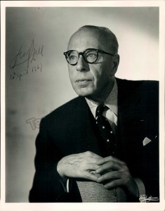 Georg Szell signed photo